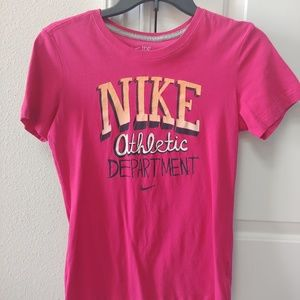 Nike Womens Fitness Athletic Top Size Medium